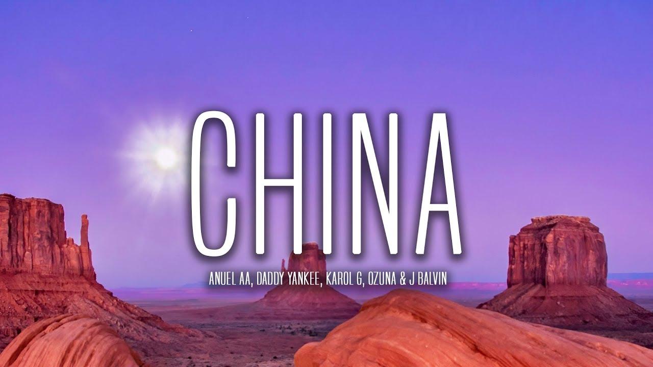 Anuel AA Daddy Yankee Karol G Ozuna u0026 J Balvin  China Lyrics  Letra