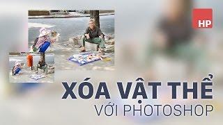 Xóa vật thể bất kỳ trong ảnh bằng photoshop | HPphotoshop.com