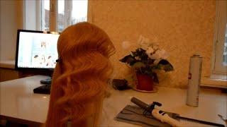 Модная прическа: голливудская волна. Как это делается. Мастеркласс по прическам.(Как сделать укладку точно такую же, как у звезд Голливуда? Это не совсем просто, но я в своем видео покажу..., 2013-12-04T07:13:25.000Z)
