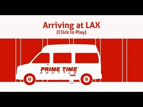 LAX Airport Shuttle Service Provided From Prime Time Shuttle