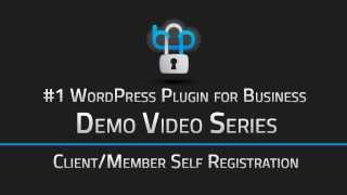 create wordpress client login portal with auto or manually approved registration wp client