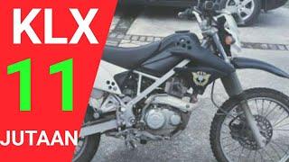 KAWASAKI KLX Rp.11 jutaan | 24 Juni 2021 | update harga lelang motor | motor bekas murah