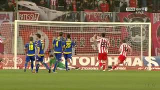 Olympiacos vs Asteras Tripolis 7-2 , Greek Superleague 2011/12 FULL MATCH