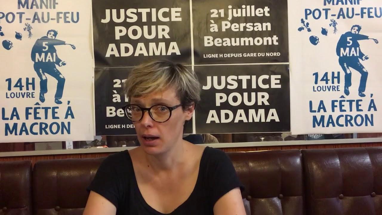 Appel à la MARCHE POUR ADAMA le 21 juillet à Beaumont