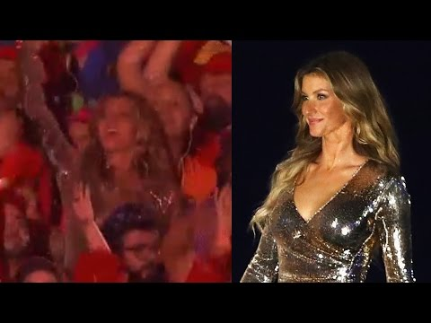 Gisele Dances During 2016 Rio Olympics Opening Ceremony