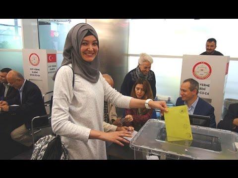 1 Kasım için ilk oy atıldı