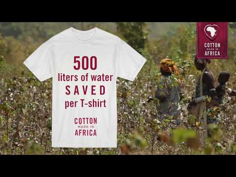 Save Water with Cotton made in Africa