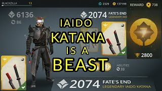 Shadow Fight 3 IAIDO KATANA is a BEAST | DAN 7