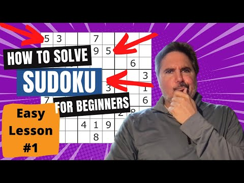 How To Solve Sudoku - PART 1  Simple Logic Lessons
