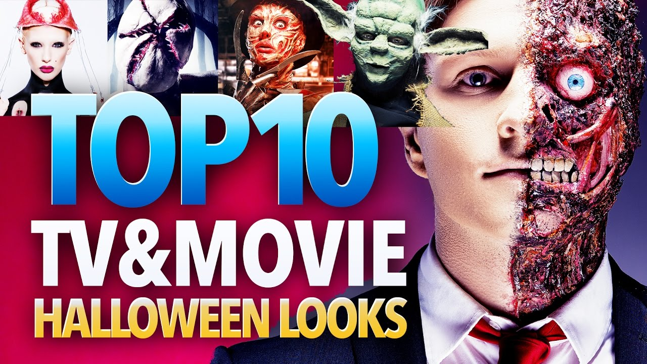 top 10 movie and tv character halloween costume ideas - youtube