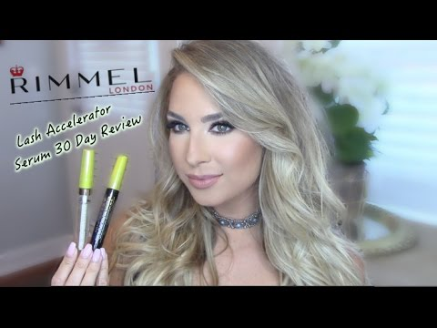 30 Day Review Rimmel Lash Accelerator Serum After Care From Lash Extensions