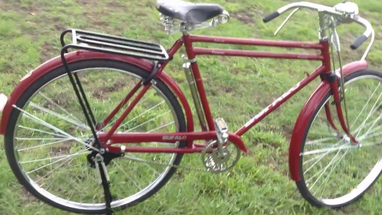 bicicleta bufalo del 63 YouTube