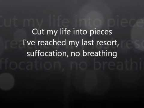 Papa Roach - Last Resort Lyrics