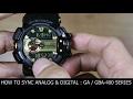 G-SHOCK GA/GBA-400 : ADJUSTING ANALOG & DIGITAL TIME WITH H-SET