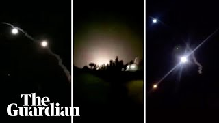 Iran releases video of missile attack on US bases in Iraq