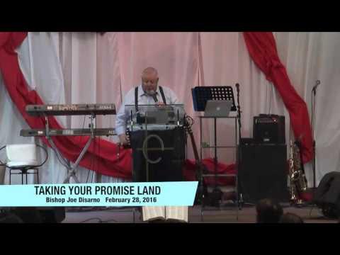 Taking Your Promise Land by Bishop Joe Disarno
