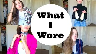 What I Wore LookBook Model Mommy Style