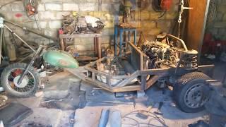 Делаю ТРАЙК с двигателем V6 3L 170 л.с. Часть 5.