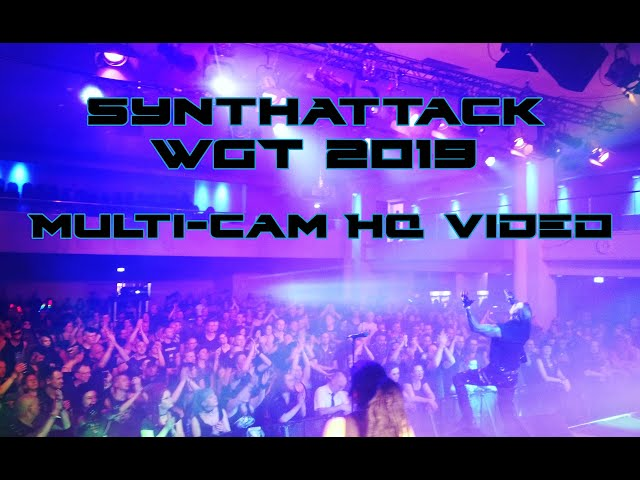 SynthAttack - LIVE @ WGT 2019 (Multi-Cam HQ Edit)