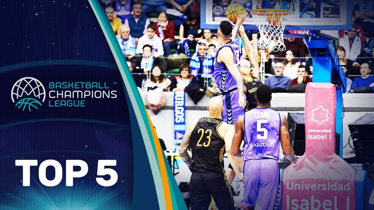 Top 5 Plays | Wednesday - Gameday 14 | Basketball Champions League 2019