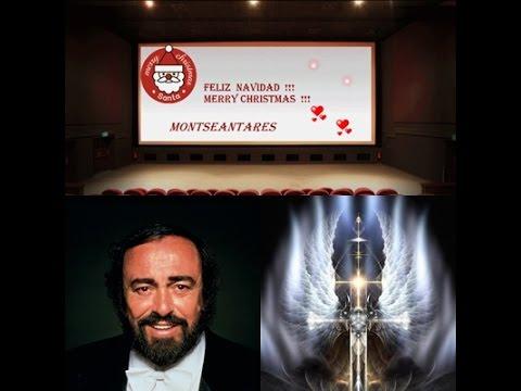 FELIZ NAVIDAD !!! MERRY CHRISTMAS !!! LUCIANO PAVAROTTI  Panis angelicus mp3