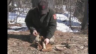 Gambar cover Survival Fire Making - Friction Fire with Fire Plow