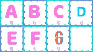 ABC學習 字母歌曲 字母表 兒童英文學習 學英文好簡單【西瓜寶寶學英語】Learn English ABC Alphabet