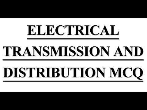 Electrical Engineering mcq on # Electrical Transmission & Distribution