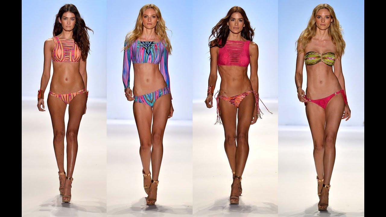 Видео показ мод супер микро бикини девушек