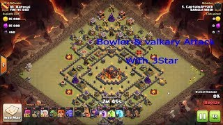 Clash of Clans - GoVaBo Attack Strategy with Bowler and Valkyrie for TH10 2017( Must See )