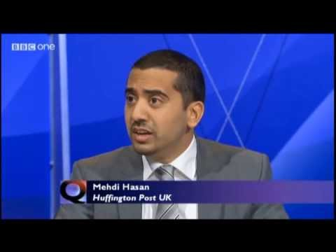 Mehdi Hasan Destroys Quentin Letts & Daily Mail on Question Time 03 10 2013