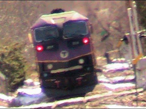 MBTA Train 616 @ Needham Center!