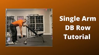 Baixar How To Do The Single Arm Dumbbell Row Exercise