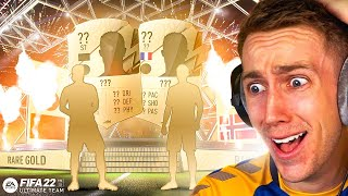 I PACKED 2 INSANE WALKOUTS! (FIFA 22 PACK OPENING)