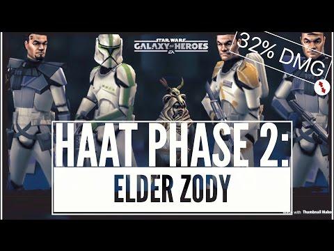 Elder Zody HAAT Phase 2 - 6.3m Dmg - Star Wars Galaxy of Heroes