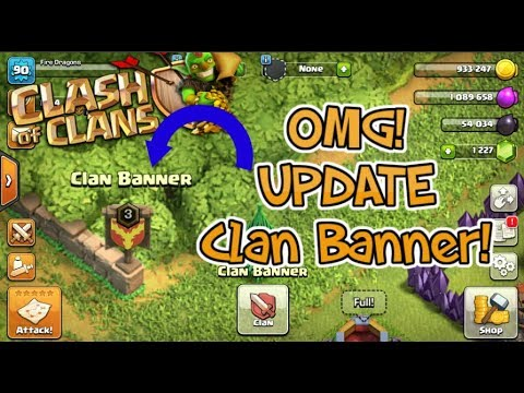 COC  Clan Banner  Update Version  2017 | Clash of Clans 2017 | Features...!!!