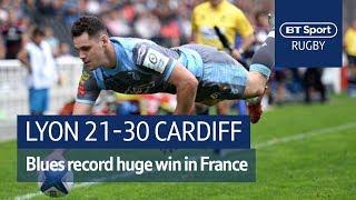 Lyon vs Cardiff Blues (21-30) Heineken Champions Cup Highlights