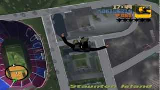 GTA III - Falling from space