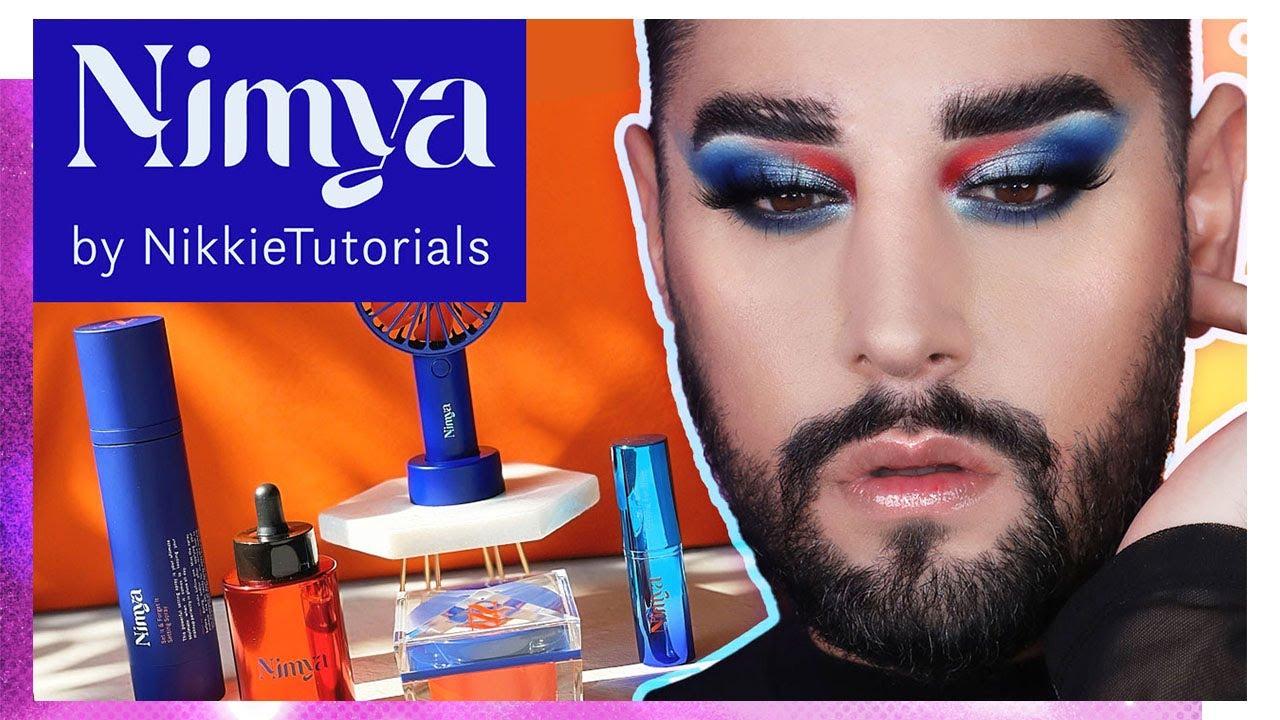 NIMYA BY NIKKIE TUTORIALS! How well does it work under makeup?