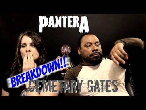 Pantera Cemetary Gates Reaction!!