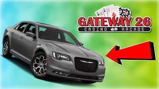 WINNING A BRAND NEW CAR FROM THE ARCADE?? OMG!!!!!