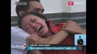 Tangis Histeris Salah Satu Anak Korban Kecelakaan Maut Tanjakan Emen, Subang - iNews Siang 11/02