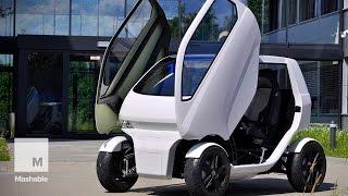 Tiny Car Changes Shape, Drives Sideways (EO 2) | Mashable News