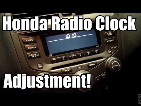 2004 Honda Accord, radio code locked | Doovi