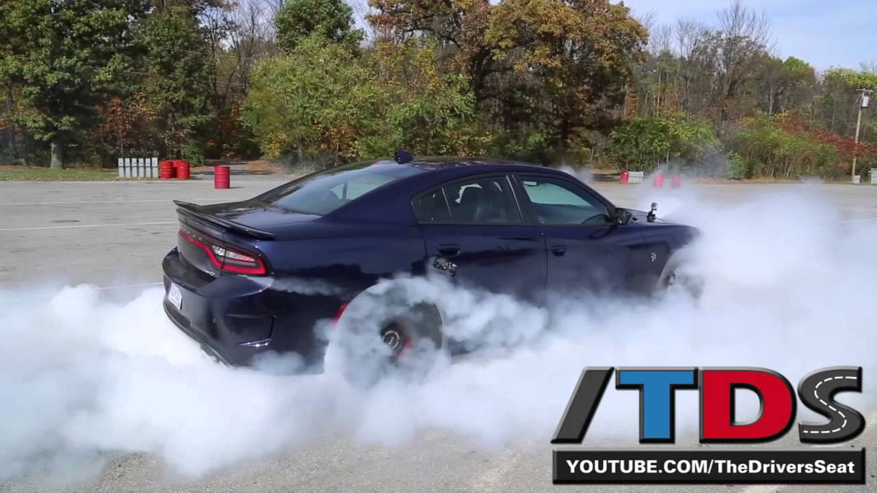 2015 Dodge Charger Srt Hellcat Burnout Youtube