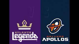Atlanta Legends vs Orlando Apollos Highlights AAF Week 1 2019 HD