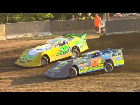 RUSH Crate Late Model Heat | Old Bradford Speedway | 6-11-17