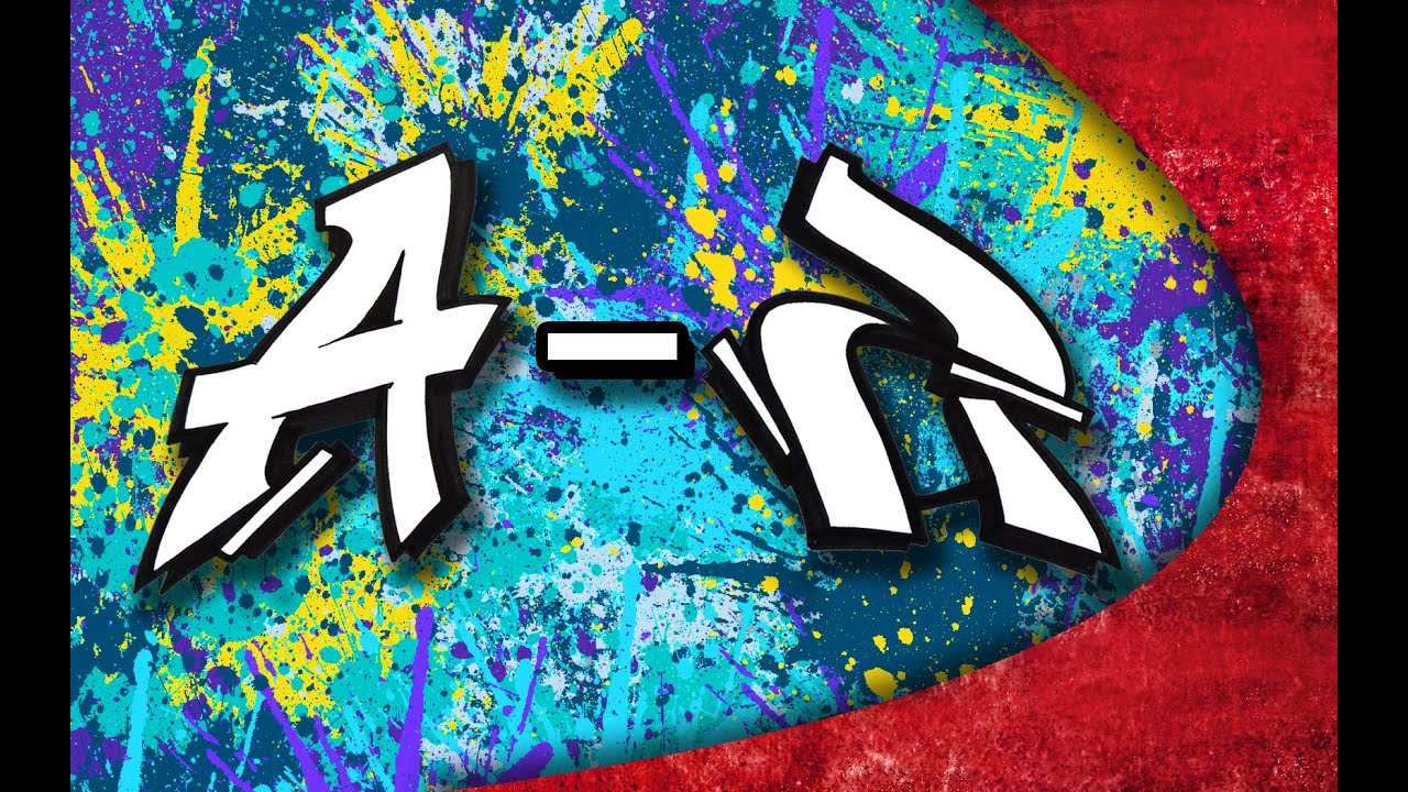 Graffiti alphabet simple letters from a z youtube - Alphabet graffity ...