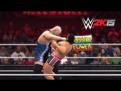WWE 2K15 Replay: Big Show vs. Rusev — WWE Hell in a Cell 2014 Simulation