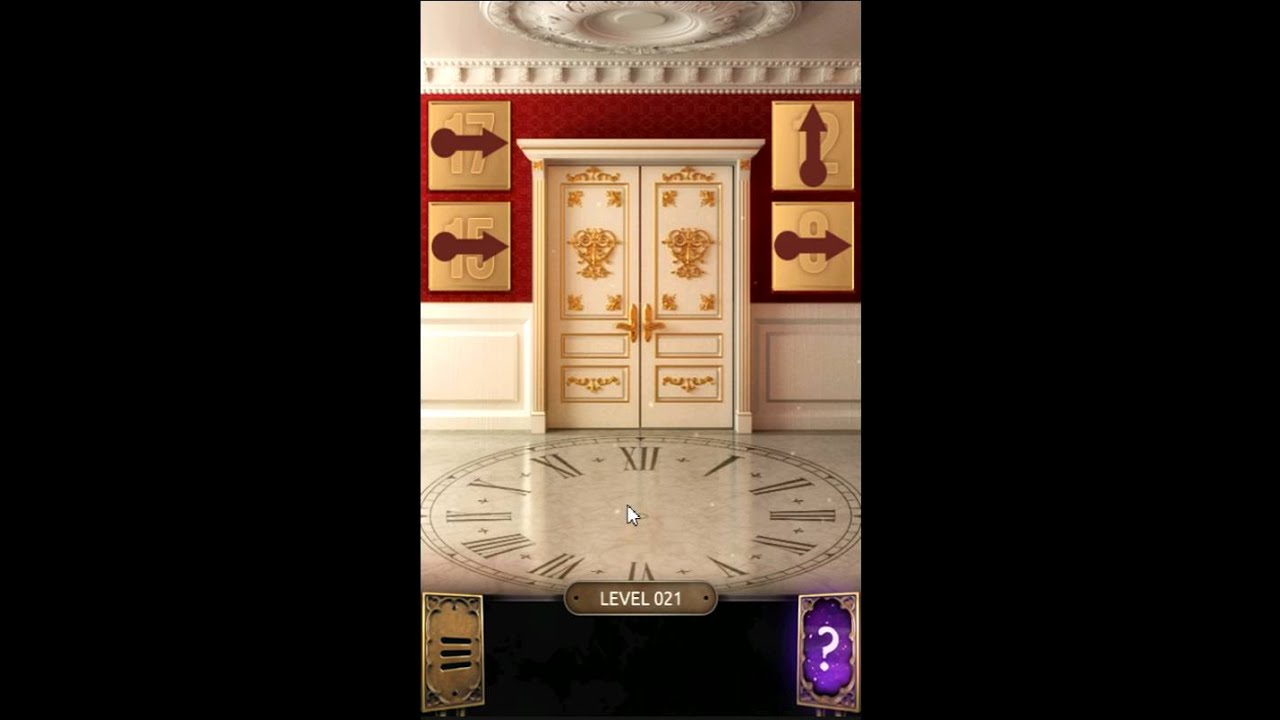 100 doors challenge level 21 youtube for Door 4 level 21
